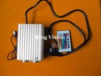 optical fiber light engine 32W RGB  led fiber optic   illuminator  , dual port and IR touch remote,for optic fiber lights