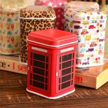 10Pcs lot Mini Metal Candy Trinket Tin Jewelry Zakka Iron Pill Tea Coin Storage Square Box