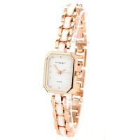 Free shipping   bracelet  rhinestone watch female women's inveted
