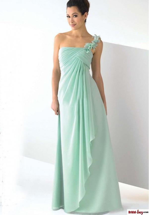 kopen Wholesale mint groene jurken voor bruiloft uit China mint groene ...
