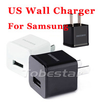 200pcs/lot USB Wall Charger Power Adapter For Samsung Galaxy S4 S2 S3 Note I9100 I9300 I9220 N7100