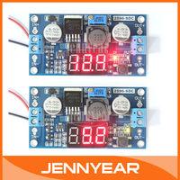 4.0-40V to 1.25-37V DC/DC LM2596 Voltage Regulator Adjustable Module Buck Converter+Digital Display LED Voltmeter #090029