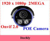 Network HD outdoor IP Camera,HD Camera 2 Megapixel Cmos H.264 ONVIF POE Optional IP Waterproof Bullet Camera