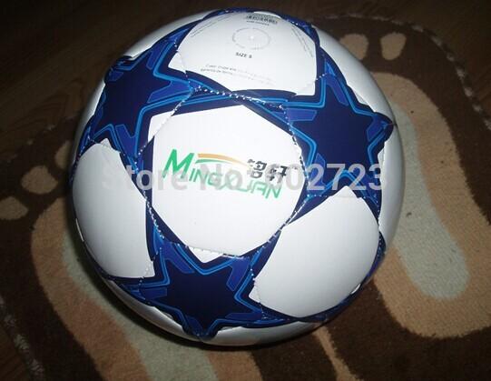 factory make and selling Free shipping hot sale offical Size 5 match football soccer ball PU material free ship randomly(Hong Kong)