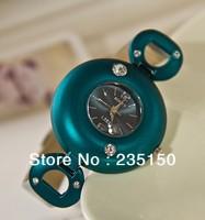 Free shipping Fashion Lady Watch Diamond Leather Watch