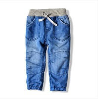Hot sale 2014 new arrival boy children spring fashion casual denim pants kids autumn thickening jeans trousers 2-10Year C2352