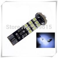 free shipping 10pcs T10 24 SMD 3528 Canbus Car turn signal light indicator led bulb 194 168 501 W5W led bulb 12V