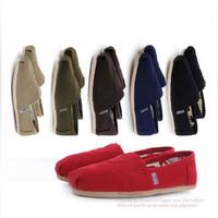 Free shipping New arrived multitudinous solid canvas flat shoes, low price comfortable men women flats KE034 sandles