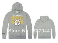 Steelers Hoodies casual men's clothing hoodie print sportswears 6 styles long sleeve Free Shipping Size S-XXL