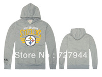 Steelers Hoodies casual men's clothing hoodie print sportswears 6 styles long sleeve Free Shipping Size S-XXL