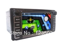 New! Car dvd Player 6.2 Inch for Toyota Corolla EX GPS Bluetooth Wheel control ipod analog tv RDS AUX USB SD etc free map card
