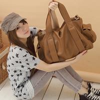 2013 women messenger bags women leather handbags women's handbag female messenger bag large capacity shoulder bag soft bag