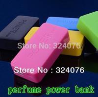 5600mAh universal USB External Backup Battery Power Bank for iPhone iPod Samsung HTC + Micro usb charger cable Perfume  perfume