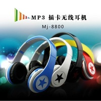 2013 headset card mp3 player wireless card earphones headset running sport mp3 deals