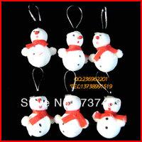 Christmas supplies christmas accessories christmas tree christmas snowman 4cm