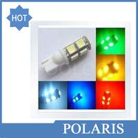 T10 9SMD 5050 9 smd 9led 9 led Car 194 168 192 W5W LED Light Automobile Bulbs Lamp Wedge Interior Light