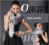Fox fur luxury thickening Winter Scarf women new 2013 scarves brand fur collar christmas gift cheap big discount  animal shape