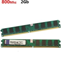 Kingstong ddr2 2gb 800mhz desktop RAM (only for AMD motherboard) 2 gb ddr2 800// computer memory chip card