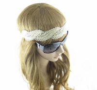 (10pieces/lot)  Lace  corrugation  Women's  Hair Accessory  Headwrap