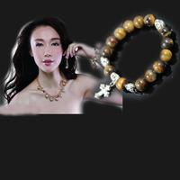 925 Silver Cross Silver Bracelet, free shipping, 10mmwholesale fashion, 2013 retro shipping, new