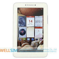 "Original Free shipping  Lenovo A2207 IdeaTab Tablet PC 7.0""IPS 1024x600 MTK8377 Dualcore1.0G 1G RAM 4G 16G ROM Android 4.0 2MP"