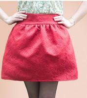 Polleras Falda 2013 mini short saias femininas autumn puff skirt fashion high waist bust skirt black plus size female saias