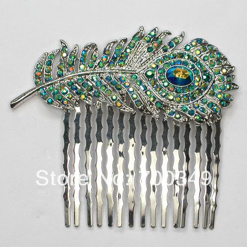 صور مجوهرات الطاوس Wholesale-Emerald-AB-Crystal-Rhinestone-Fashion-font-b-Peacock-b-font-font-b-Feathers-b-font