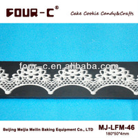 Lace silicone mat, sugar art mat,fondant decorating mould,Cake Lace Mat,lace silicone embossing mold,sugar lace silicone