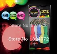 High quality LED ballon balloon light up balloon for christmas novelty  balloon with single color led light2000pcs free shipping