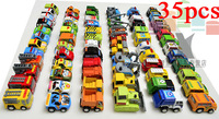 Pull Back Car Toys Children Racing Car Toys Baby Mini Cars Police Car Fire Truck Free Shipping