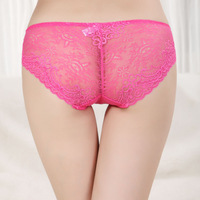 HOT Sales Free Shipping Transparent Qualitative Lace Lingerie/ Women's panties Free Drop Shipping 10Pcs/Lot W5059