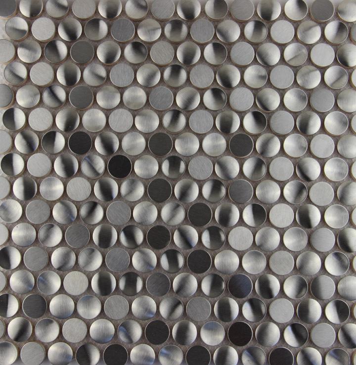 Aliexpresscom Buy hot sale round metal mosaic stainless