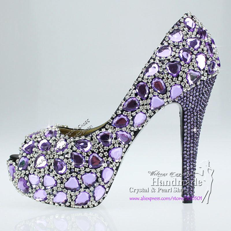 high heel online shopping Lilac High Heels