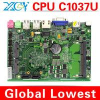 atom N270 fanless mini itx motherboard Micro mini mother board XCY X-26x Mini-ITX mini computer motherboard