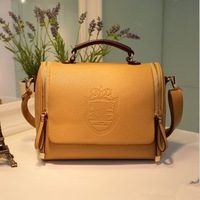 2013 new handbags fashion handbags British Crown portable shoulder diagonal package female bag wholesale retro
