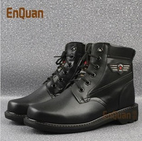 Free shipping 2013 New arrivals winter men's boots 100% genuine leather wool snow boots thermal boots hot-selling boots outdoor