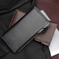 Genuine Leather Men Wallets+Leather Bags+Business Card Holder+Free Shipping