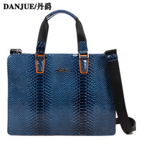 Luxury Gorgeous elegant blue briefcase handbag messenger bag 2013