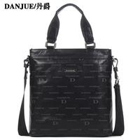 First layer of cowhide genuine leather man bag handbag messenger bag male shoulder bag