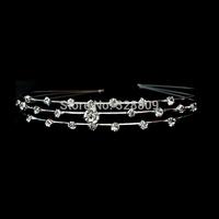 3pcs/lot Free shipping-Star crystal bridal crown wedding tiara Bridal Wedding Party Prom JEWELRY