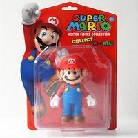 Wholesale SUPER MARIO Mario COLLECTION FIGURE KID TOY 5'' New In Box