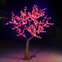 110v / 220v 1.8m 1152leds 69W outdoor christmas led tree light in red color