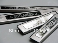 2007-2012 Mitsubishi Outlander High quality stainless steel Scuff Plate/Door Sill