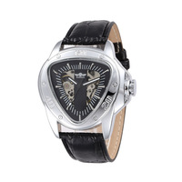 2014 Fashion Vintage Automatic Mechanical Winner Male Table Triangle Man Wristwatch Special Skeleton Auto Clock reloj relogio