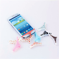 Free Shipping kpop name brand cute anime phone underwear power button sticker/home keyboard smart pants undies button for phone