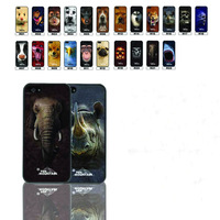 New animal Beasts 3D Flash Effect Hard Case Phone Cover for iphone 5  5S 5G free shipping