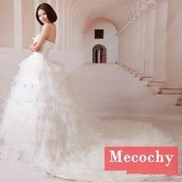 Free shipping !2013 fashion women dress Sweet   wedding dress