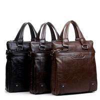 2014 Famous Designer Handbags High Quality POLO PU Genuine Leather Bags For Men Messenger Bags Shoulder Bag Black/Brown Color