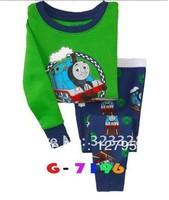 Top quality Free shipping baby pajamas kids jumpsuits bodysuit kids sleepwear baby girl pyjamas 6sets/lot