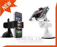 1X Universal Car Windshield Stand Mount Holder Bracket for mobile phone/GPS/MP4 Rotating 360 Degree
